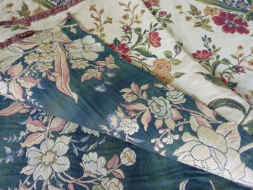 Synthetic Embroidered Floral Design
