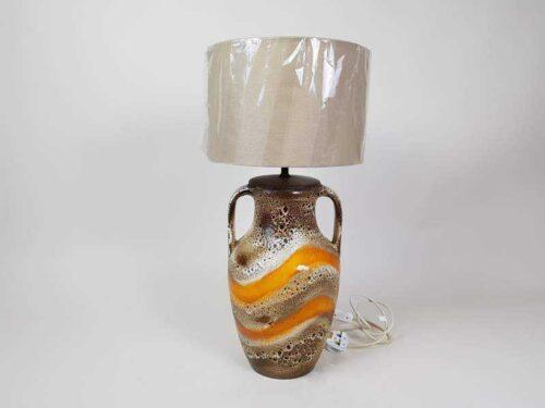 German mid century modern ceramic Table Lamp