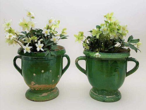 Pair of Castelnauday Urns