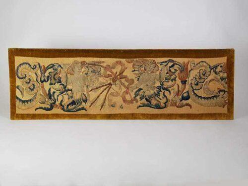 Antique Aubusson Panel