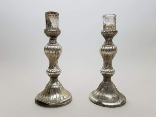 Pair of French Mercury Candlesticks
