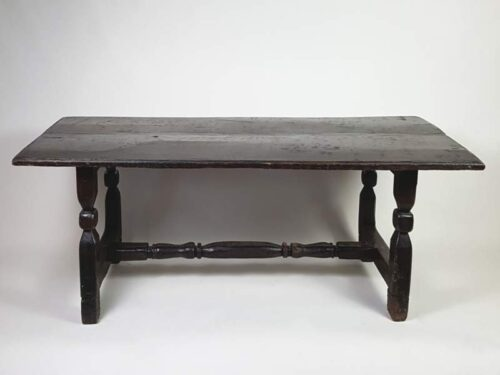 Low French Dark Oak Occasional Table