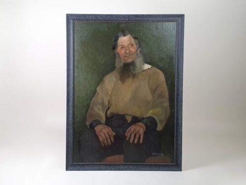 Large striking Swedish portrait of a Sailor
