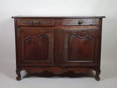 French 18th Century Oak Buffet