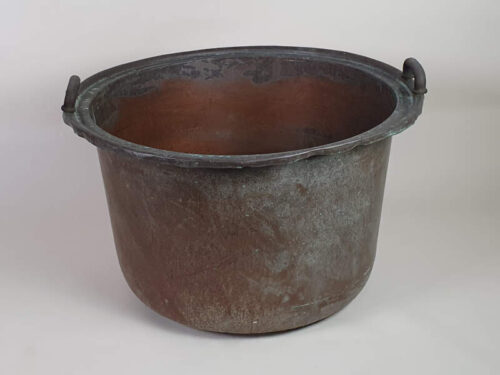 Large Dutch copper, for use as a Log Basket or garden planter