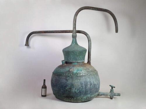 Copper Cognac Still or Alembic