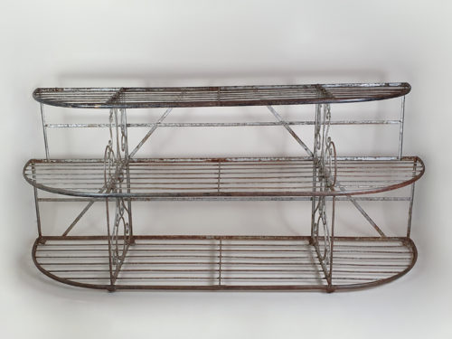 French wrought iron boulangerie or patisserie Stand