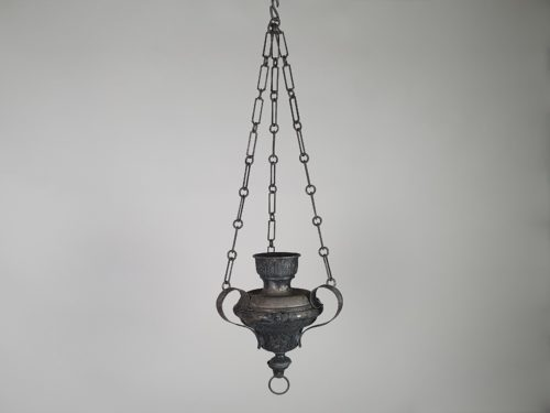19th century church altar Thurible for incense burning with original chain