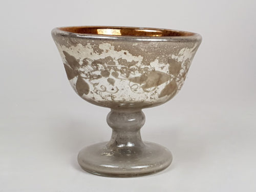 19th century mercury Baptism cup